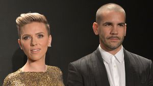 Scarlett Johansson und Romain Dauriac in Los Angeles