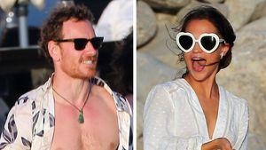 Ja-Wort? Michael Fassbender & Alicia ganz in Weiß auf Ibiza!