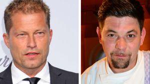 Schauspieler Til Schweiger und Sternekoch Tim Mälzer