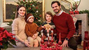 Familien-Foto: Hier sieht man Prinzessin Sofias Babybauch