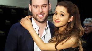 Scooter Braun und Ariana Grande