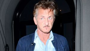 Sean Penn vor einem Restaurant in West Hollywood