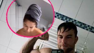 Erwischt: Was macht Bachelor-Diana im Bad von Basti Preuss?