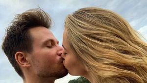 Knutsch-Alarm! Sebastian und Angelina Pannek ganz verliebt