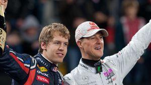 Sebastian Vettel: Gefühlvolle Rede für Schumi