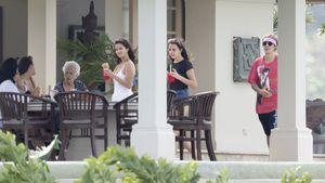 Sel & Justin bei Familienfeier: Wer ist hier eigentlich wer?