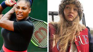 Tennis mit Serena Williams: Schwangere Gigi Hadid verletzt!