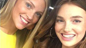 Echte Modelwelt: GNTM-Serlina & Céline starten auf FW durch!
