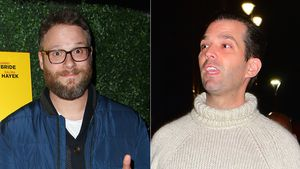 Seth Rogen und Donald Trump Jr.