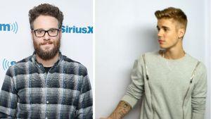 Justin Bieber und Seth Rogen