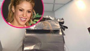 Shakira beim Haarefärben