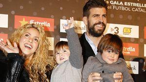 Megasüß! Hier cruist Shakira mit ihren Boys durch Barcelona