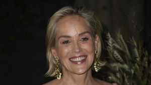 Fast inkognito: Sharon Stone auf Sightseeing-Tour in Berlin