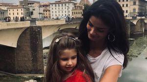 Süßes Knuddel-Bild: Shermine Shahrivar zeigt ihre Tochter