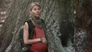 Am Set: Hier zeigt sich Sienna Miller mit falschem Babybauch