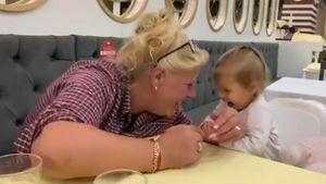 """""""Unendliche Liebe"""": Silvia Wollny teilt Video mit Enkelin"""