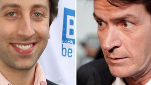 Big Bang Theory-Howard zieht bei Charlie Sheen ein