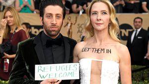"Mutig! ""TBBT""-Star Simon Helberg protestiert gegen Trump"