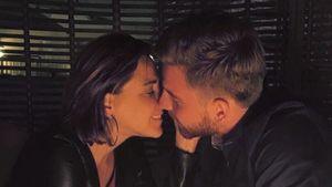 Simone und ihr Florian bei einem romantischen Abend