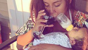 Follower entsetzt: Snooki trinkt Wein – und das beim Stillen