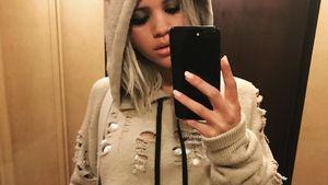 Sofia Richie beim Posieren für ein Selfie