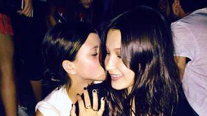 Sofia Richie (l.) und Bella Hadid (r.), Models