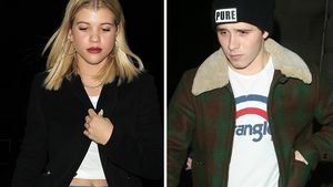 Sofia Richie & Brooklyn Beckham in London