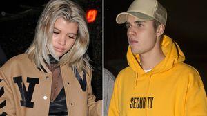 Sofia Richie und Justin Bieber in London