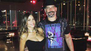 Sofia Vergara und Joe Manganiello auf der Feier zu seinem 40. Geburtstag im Januar 2017