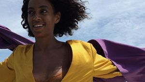 Wow! So romantisch flitterte Solange Knowles