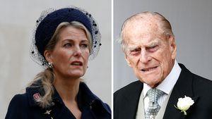 """Sophie von Wessex verrät: Prinz Philips Tod war sehr """"sanft"""""""