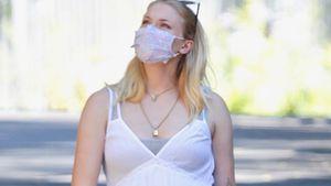 Während Geburt ihres Babys: Sophie Turner trug eine Maske