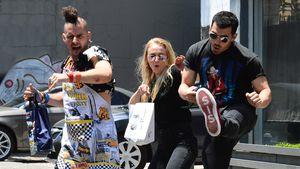 Sophie Turner und Joe Jonas mit einem Freund in L.A.