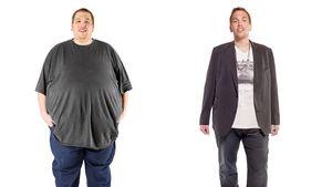 Extrem schwer: Ex-238-Kilo-Mann hat Angst vorm Fett-Rückfall