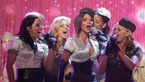 Mit Spice-Girls-Fotos: Vic und Geri gratulieren Emma zum 45.