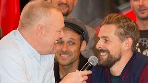 Moderator Stefan Raab und Klaas Heufer-Umlauf