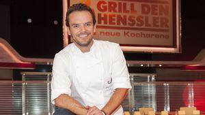 """Steffen Henssler beim Fototermin seiner Show """"Grill den Henssler - die neue Kocharena"""""""