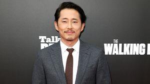 """Steven Yeun bei der Premiere von """"The Walking Dead"""" im Oktober 2016"""