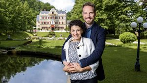 """""""Sturm der Liebe""""-Traumpaar der 9. Staffel: Leonard (Christian Feist) & Pauline (Liza Tzschirner)"""