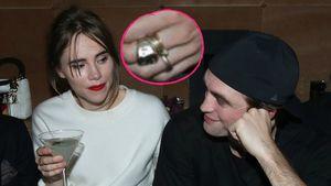 Verdächtiger Ring: Sind Robert Pattinson und Suki verlobt?