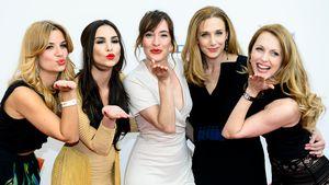 Susan Sideropoulos, Sila Sahin, Maike von Bremen, Kristin Meyer und Natalie Alison