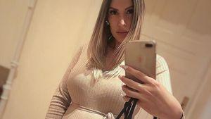 Wie geht es Playmate Tanja Brockmann kurz vor der Geburt?