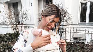 Sechs Monate Mutter: Tanja Brockmann teilt süße Collage