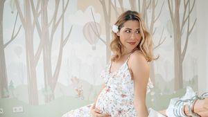 Schwangere Tanja Szewczenko mit Blasensprung im Krankenhaus