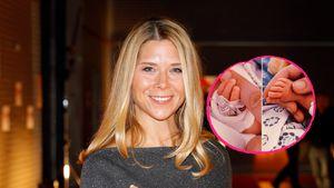 Einige Wochen zu früh: Tanja Szewczenko ist Mama geworden