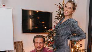 Nach Babynews: Tanja Szewczenko zeigt ihr kleines Bäuchlein