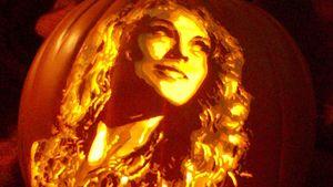 Taylor Swift (Celebrity Pumpkin Carvings)
