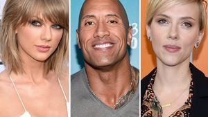 "Taylor Swift, Dwayne ""The Rock"" Johnson und Scarlett Johansson"