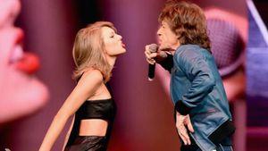 Taylor Swift und Mick Jagger