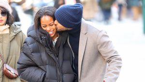 Jesse Williams turtelt mit seiner Freundin durch New York!